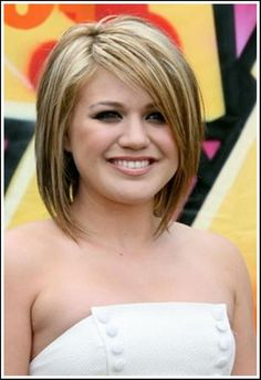 awesome Short Hairstyles For Fat Faces And Double Chins   Fashion Trend and Wedding Inspiration Decoration