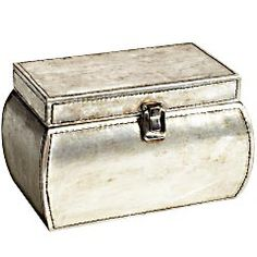 Antiqued Silver Jewelry Box...I like it.....Pier !