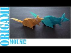 In this tutorial, I will show you how to make an origami Mouse. Enjoy :D!      Origami: Mouse!  Designed By: Steven Casey!    Tips: Take care of your folds at the beginning, and the rest should be fairly easy if you follow the tutorial exactly. Making careful folds, and making sure everything is properly aligned will allow you to get best results for the final product. This rule is something that should probably be kept in mind when making any origami model. Other than that, have fun!