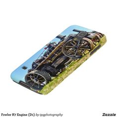 """Fowler K7 Engine (D1) Cases For iphone and Samsung Galaxy. 1916 Fowler K7 Ploughing engine """"Linkey"""""""