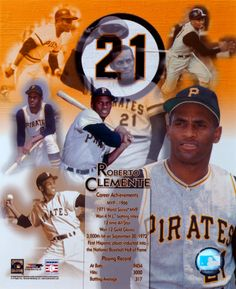 Roberto Clemente Pittsburgh Pirates Stretched Canvas MLB Baseball,PORTRAITPLUS,RETIRED Roberto Clemente - Legends of the Game Composite. Canvas Sizes Available. Please allow business days as canvases are made to order. Pirates Baseball, Baseball Star, Baseball Girls, Sports Baseball, Baseball Players, Pittsburgh Sports, Pittsburgh Pirates, Puerto Rico, Roberto Clemente