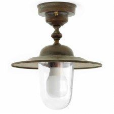 Marina Ceiling Light Aged Copper