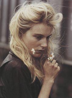 Dree Hemingway by Bruce Weber for Vogue Italia