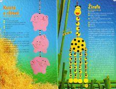 giraf knutselen