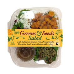 Greens & Seeds Salad