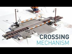 The DIY super slim lifting gate mechanism for railway crossing N Scale Model Trains, Model Train Layouts, Scale Models, Ho Train Track, Train Tracks, Lionel Trains Layout, Model Railway Track Plans, Electronic Circuit Projects, Dioramas