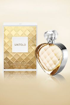 A gorgeous new fragrance: Untold by Elizabeth Arden
