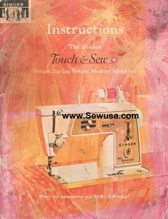singer touch and sew 750 manual