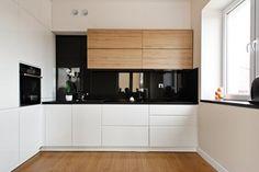 Powiew nowoczesności - Duża otwarta kuchnia w kształcie litery u, styl nowoczesny - zdjęcie od Studio Uljar