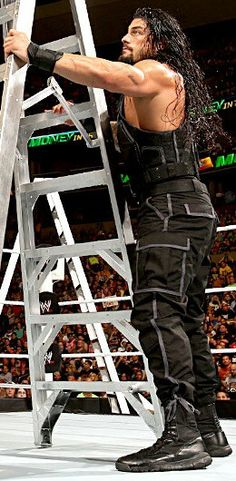 Roman Reigns this is going to be you when you win the money in the bank believe that