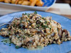 Barley and Shiitake Mushroom Risotto Recipe : Guy Fieri : Food Network - FoodNetwork.com