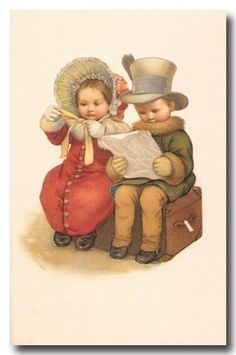 Children Vintage Cards...Oh, I just LOVE this!