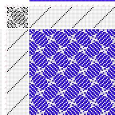 draft image: Figure 349, Glossary of Weaves Serial 501, International Textbook Company, 16S, 16T