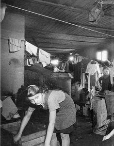 Unterkunft der Flüchtlinge in Nissenhütten