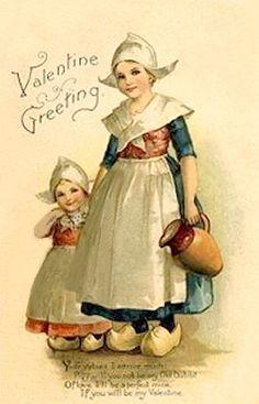 Dutch vintage Valentine