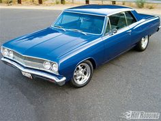 1965 Chevelle Grandparents has one in a lighter blue...marion and bertha mcculley