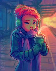 impatience by destinyblue - Sweet Digital Art by DestinyBlue  <3 <3