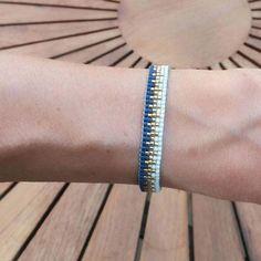 diy vævet armbånd med delica perler - Best Home Idea Bead Loom Bracelets, Beaded Bracelet Patterns, Beading Patterns, Bead Loom Designs, Diy Jewelry Tutorials, Loom Beading, Handmade Jewelry, Womens Fashion, Crafts