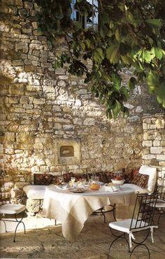 Beautiful Stone wall space