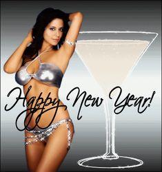 Happy New Year Sexy Girl