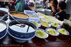 Xian Muslim Street Cold Noodle Stall. www.china-memo.com