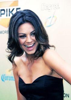 Mila is so gorgeous!  Plus she always seems this happy.