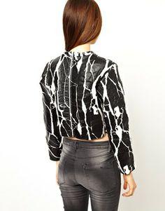 1785fbf9 ASOS Sweatshirt with Cracked Effect Asos Sweatshirt, Fashion Online