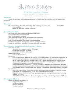 Event Planner Resume Example  Professional Life  Resumes