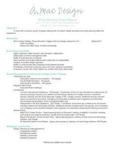 Event Planner Resume resume event coordinator sample resume event planner resume event planning resumes Wedding Event Planner Resume Accessoires Pour Russir Votre Mariage Sur Httpyesidomariage