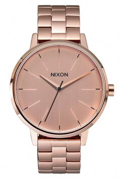 feb141ff4918 Nixon The Kensington Watch - Women s Watches in All Rose Gold
