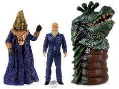 Pack 3 figuras Doctor Who. Tercer Doctor, enemigos