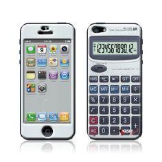 """Calculator"" Doming SmartphoneCover - iPhone5 www.cushyskins.com"