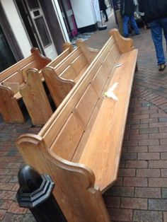 Long church pew #bench seat - #viewing #welcome, View more on the LINK: http://www.zeppy.io/product/gb/2/141950387015/