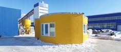 Construye tu propia casa impresa en 3D, todo en un día