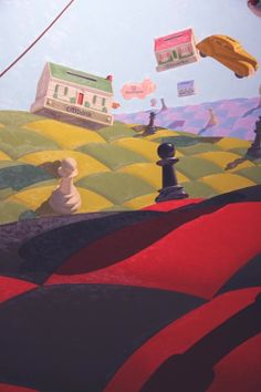Surreal Perspective Painting