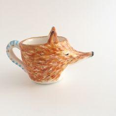 Red Fox milk jug