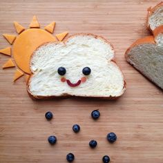 This is a cute sandwich idea for a picky eater kid!