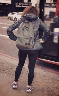Maria from Kentish Town, London - Wearing Wyoming in Armylange.