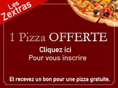 Bookinalex: Bon pour une pizza gratuite au Kiosque à Pizza