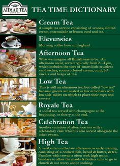Tea Time Dictionary