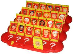 My favorite game as a kid! I'd stay up for hours playing Guess Who with my dad :) such great memories!