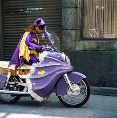 Purple Batgirl