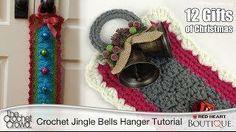 Learn to Crochet a Jingle Bells Door Hanger Tutorial with Mikey from @Matt Valk Chuah Crochet Crowd