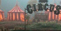 freak show { Dark Circus, Circus Art, Circus Theme, Circus Tents, The Circus, Creepy Circus, Creepy Carnival, Carnival Themes, Decoration Cirque