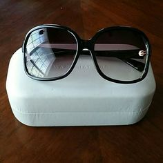Marc Jacobs Sunglasses *Marc by Marc Jacobs Sunglasses* Still in good condition, they have some minor scratches that are not really noticeable when put on.  *PLEASE FELL FREE TO MAKE OFFERS & ASK QUESTIONS! :) Marc by Marc Jacobs Accessories Sunglasses