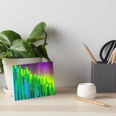 'Hue-Cactus' Art Board Print by HeartActivation Cactus Art, Art Boards, Wall Prints, Creative Design, Hue, Planter Pots, Healing, Stickers, Artist