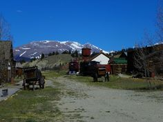South Park City in Alma, Co. An 1880's recreation of an old mining town. Photo by: J.S. Petralito 5/10/2012