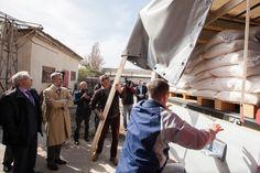 Primul ajutor umanitar romanesc a ajuns la Chisinau
