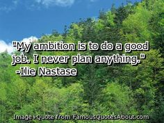 What is your ambition in your field or in your career?