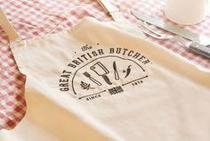 The Great British Butcher - Identidad visual